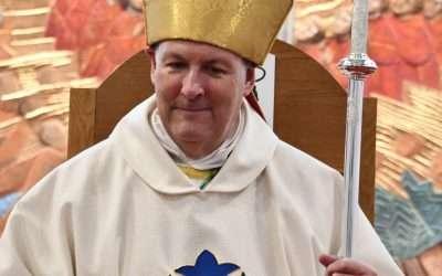 Bishop David Thanks Parish Volunteers