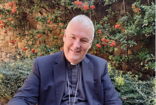 Prayer and catechesis with Bishop David