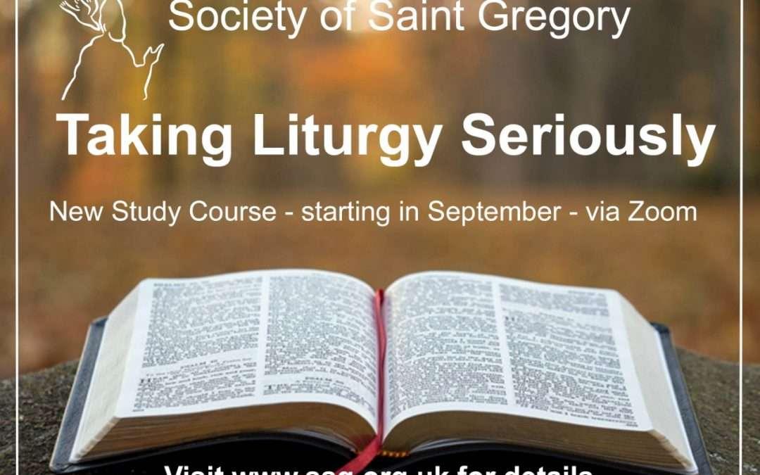 Taking Liturgy Seriously
